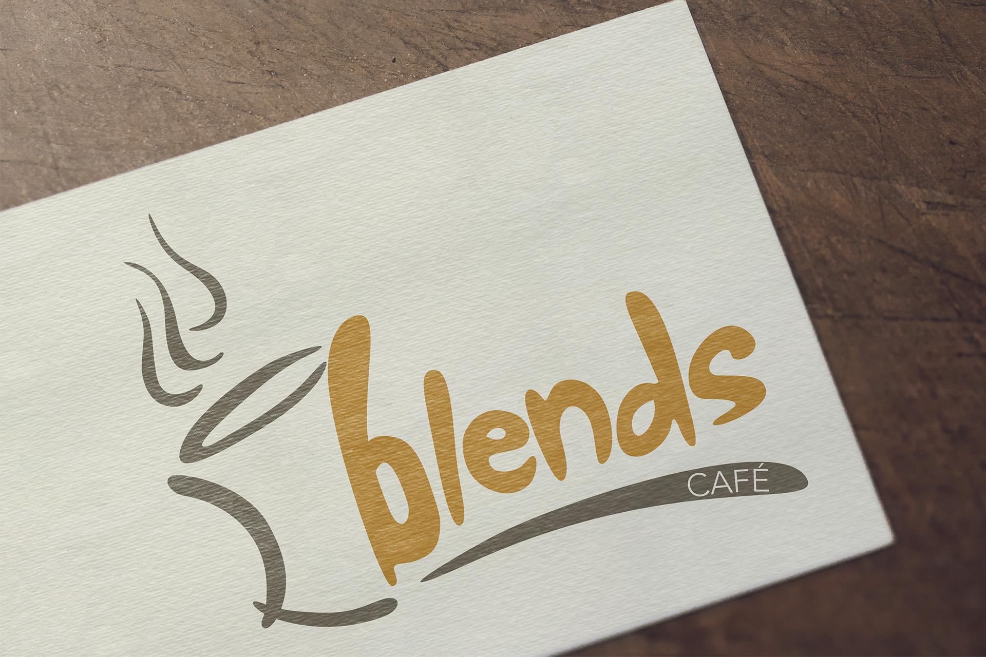 Blends Cafe logo